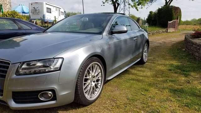 audi a5 2-7-v6-tdi-190-dpf-ambition-luxe-multitronic-a gris