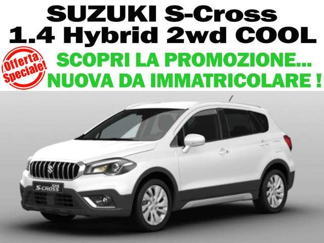 suzuki sx4-s-cross 1-4-hybrid-cool-2wd-nuova-da-immatric bianco