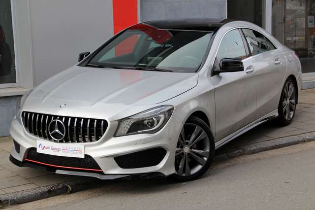 mercedes-benz cla-200 d-amg-garantie-1an-full-option-gps-xenon-led gris