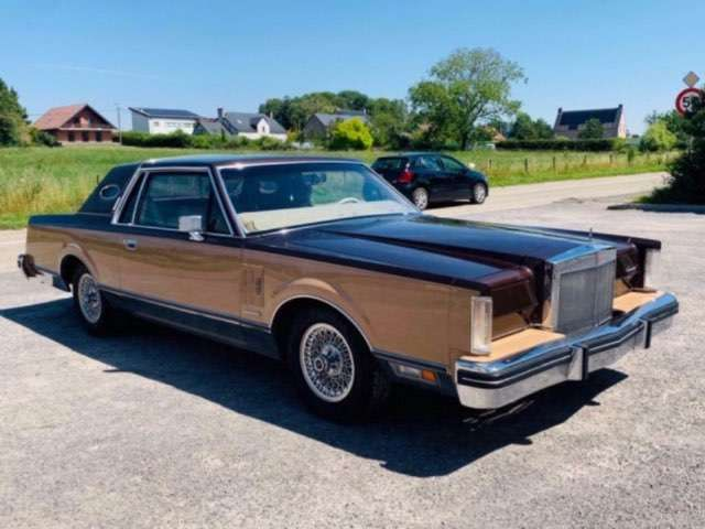 lincoln continental mark-vi beige