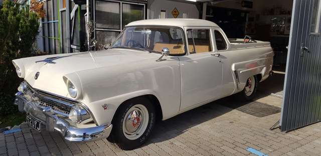 oldtimer ford weiss