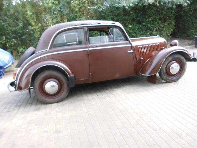 oldtimer dkw ifa-f-8 braun