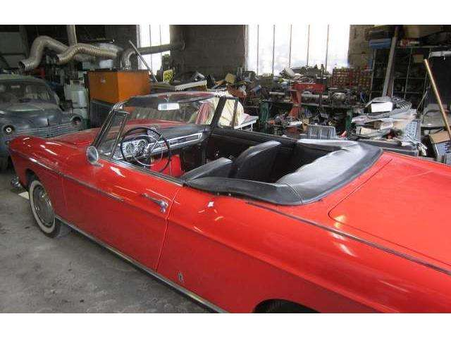 peugeot 404 rosso