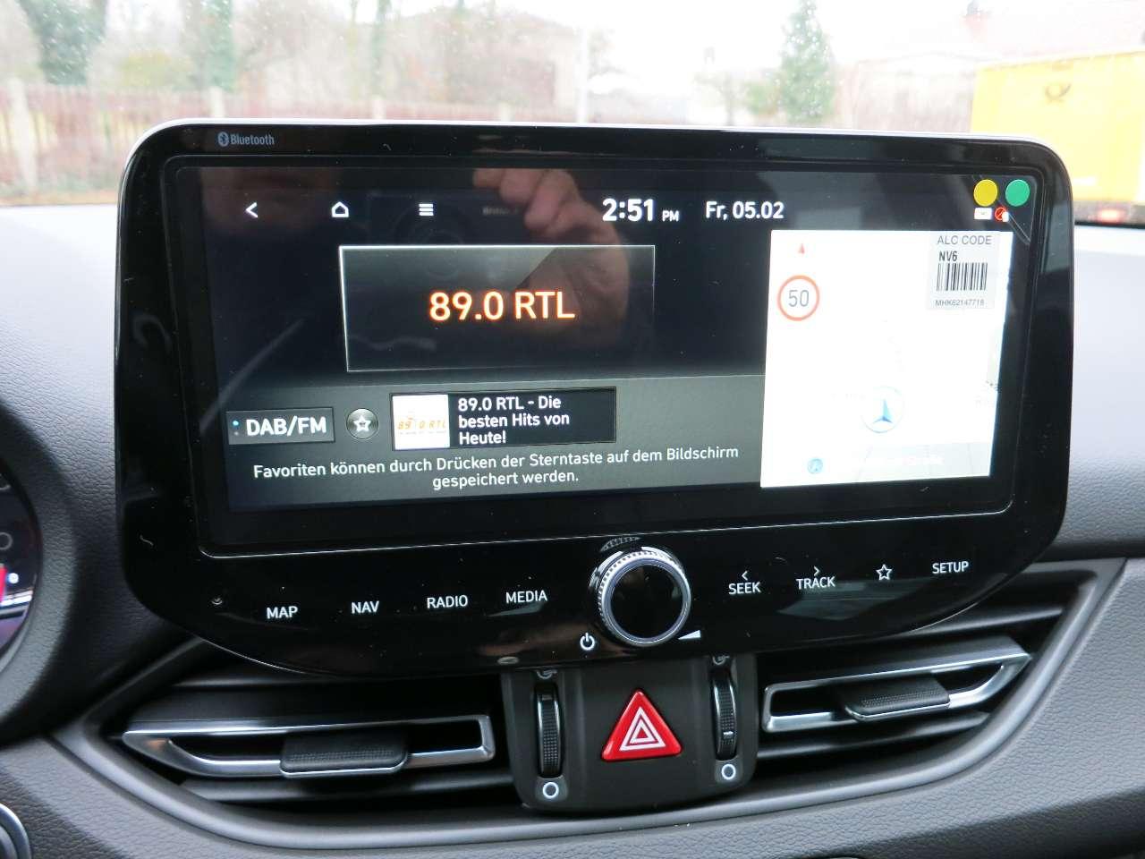 1.5 T-GDI 48V-HybridDCT Premium LED LEDER NAVI DAB