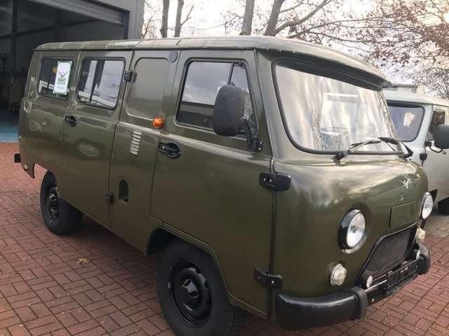 uaz buchanka 2206-allrad-4x4-offroad-euro6-deutsche-zul-sofort green