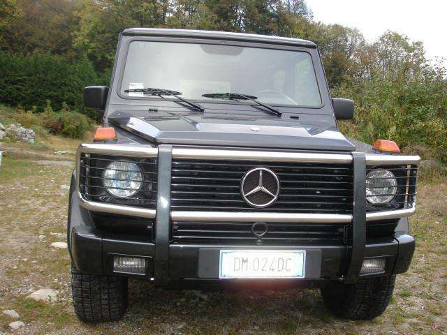 mercedes-benz g-320 cat-lungo-station-wagon schwarz