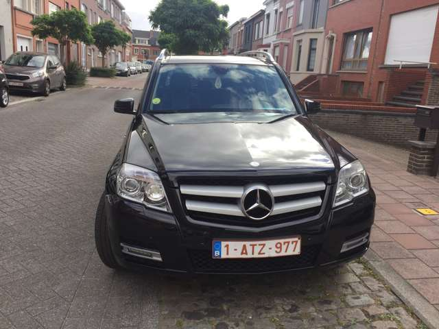 mercedes-benz glk-220 cdi-2wd-be zwart