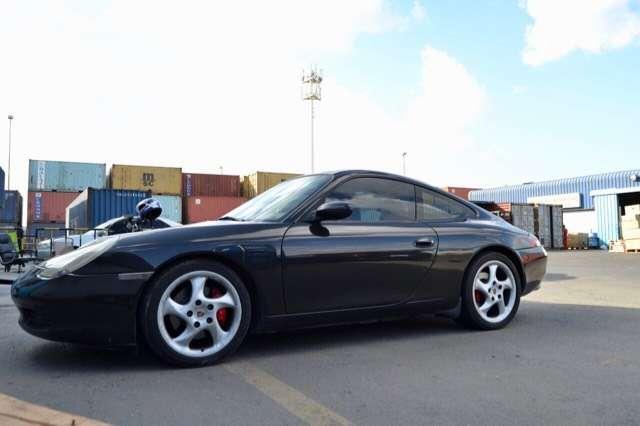 porsche 996 carrera-2-coupe-3-4-300cv-km135000-service-book nero