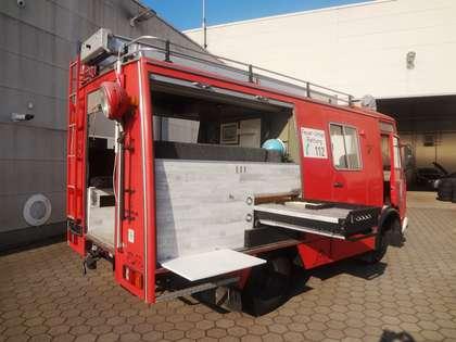 Trucks-Lkw Iveco Magirus EX-Feuerwehr Wohnmobil