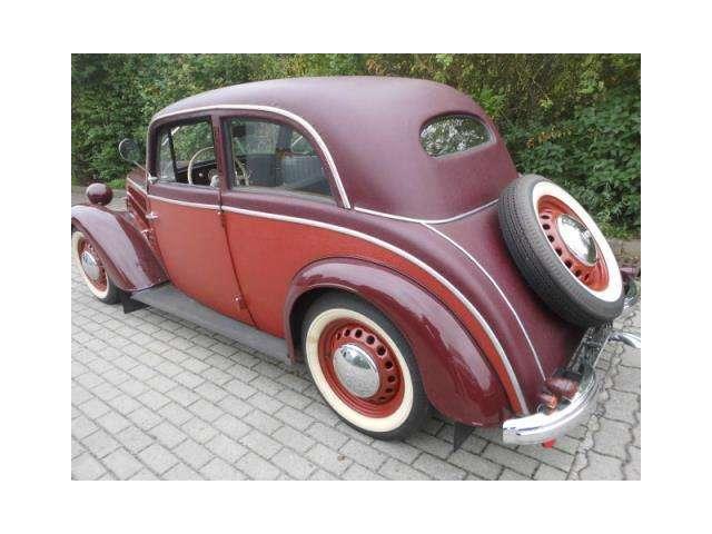 oldtimer dkw limousine in rot oldtimer in calau f r. Black Bedroom Furniture Sets. Home Design Ideas
