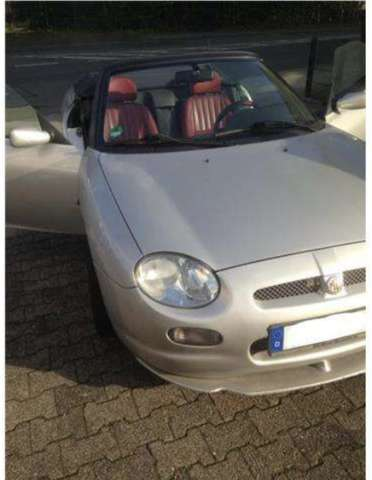 mg mgf 75-limited-edition silber