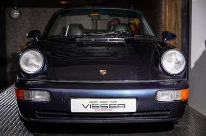Porsche 964 964 Carrera 2 Handbak Cabriolet Marineblau-met.