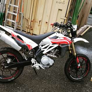 Buy Hyosung XRX 125 used - AutoScout24