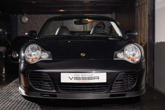 porsche 996 996-turbo-x50-handgeschakelde-cabriolet black