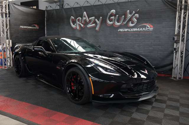 corvette c7 cabriolet-6-2-v8-grand-sport-3lt-at8 schwarz