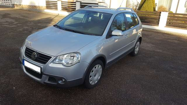 volkswagen polo-cross 1-4 argento