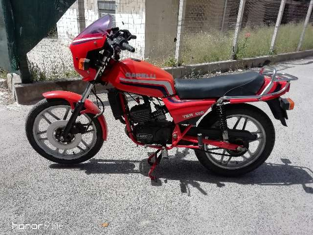 garelli others tsr-125 rosso
