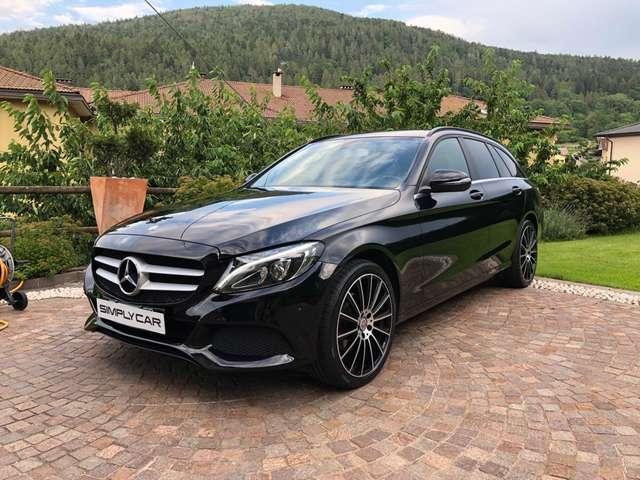 mercedes-benz c-220 d-s-w-auto-business-cerchi-19-nuovi nero