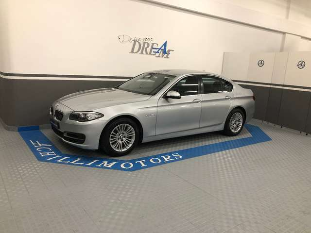 bmw 518 serie-5-f10-f11-business-aut silber