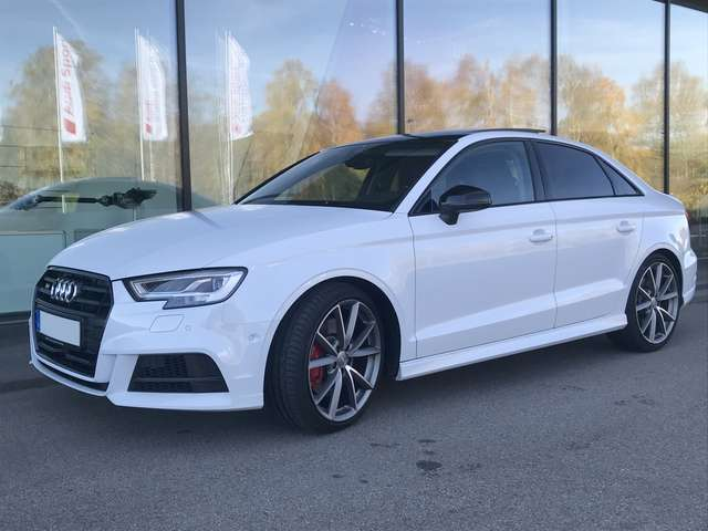 audi s3 limousine-s-tronic weiss