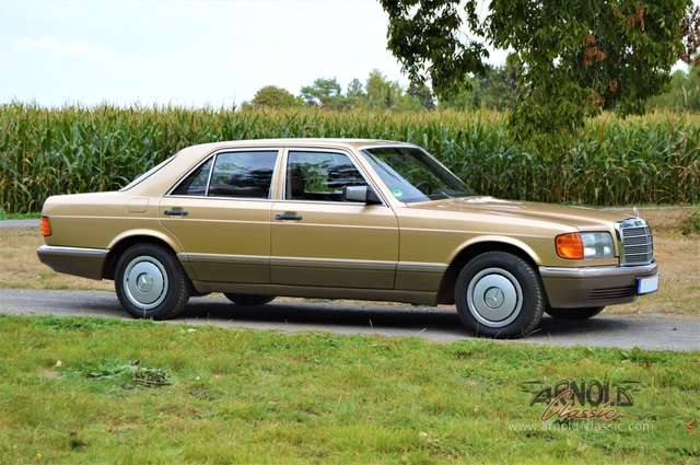 mercedes-benz others 300-se-w126 gold