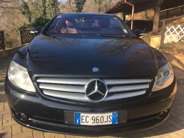 mercedes-benz cl-500 sport-strafull noir