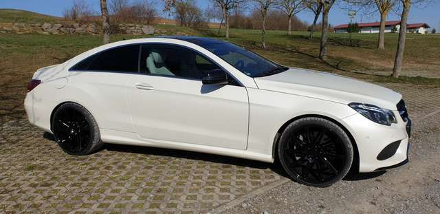 mercedes-benz e-500 coupe-7g-tronic weiss