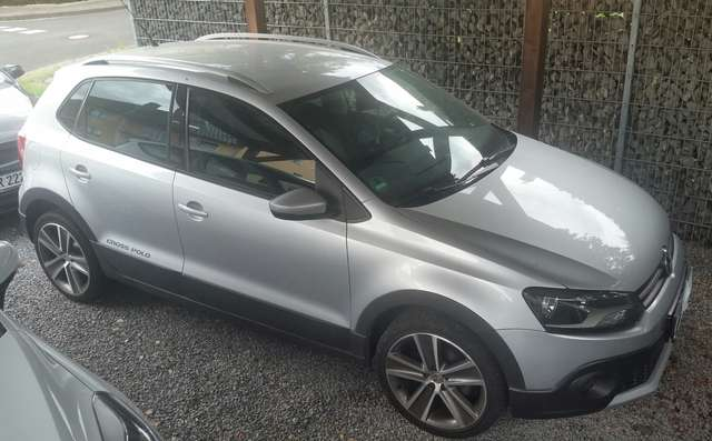 volkswagen polo-cross 1-4 silber