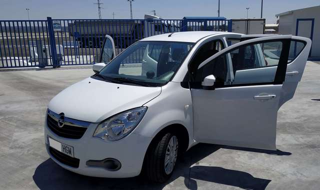 opel agila 1-0-enjoy-ecoe blanco