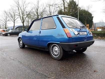 Renault R 5 Alpine Turbo 1983 blauw 148000 km orig nieuwstaat!