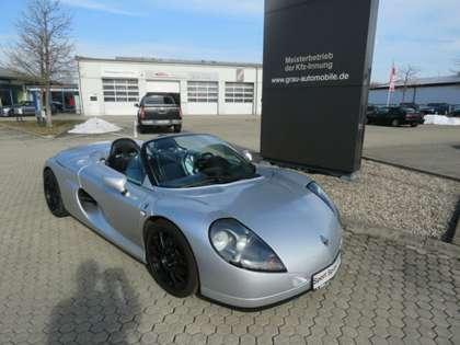 Renault Spider mit Frontscheibe Silber