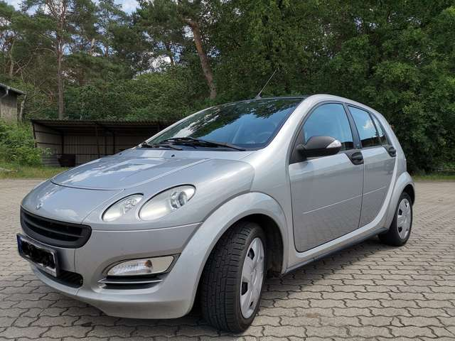 smart forfour pure silber