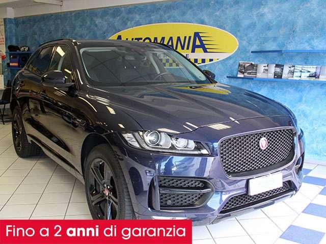 jaguar f-pace 2-0-d-180-cv-awd-r-sport-garanzia-ufficiale azul