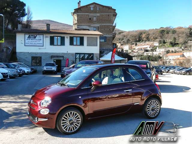 fiat 500 1-2-lounge-restylng-schermo-touch-ok-neop rosso