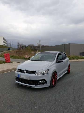 volkswagen polo 6r-r-line weiss