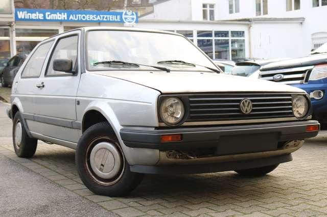 volkswagen golf 2-automatik-1hand-53tkm-oldtimer-h-kennzeichen silber