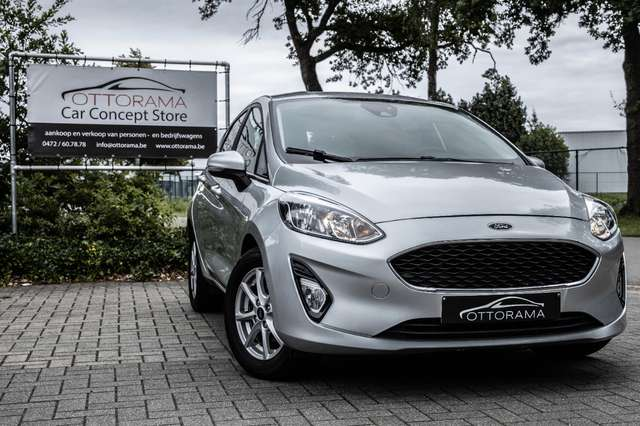 ford fiesta 1-1i-business-class-airco-pdc-carplay-alu argent