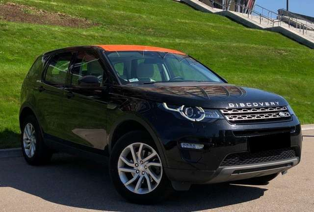 land-rover discovery-sport td4-aut-hse schwarz