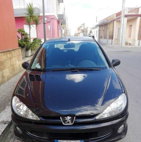 peugeot 206 1-4-hdi-5p-sweet-years nero