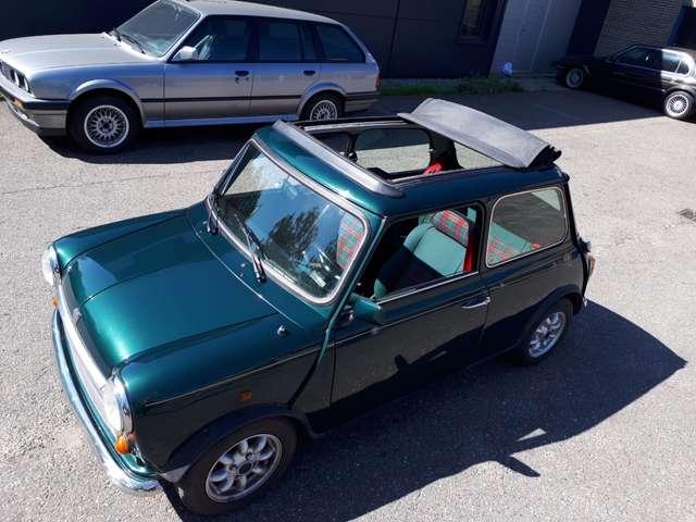 mini 1300 cabrio-balmoral-1996-groen-schotse-ruit-lovely groen