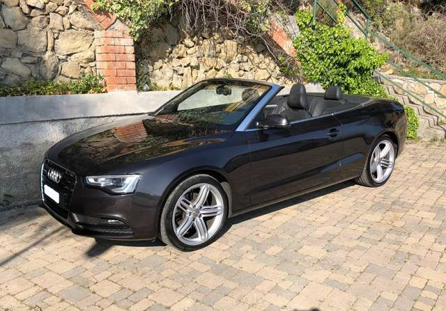 audi a5 cabriolet-2-0-tdi-177-ambition-luxe-multitronic-8 gris