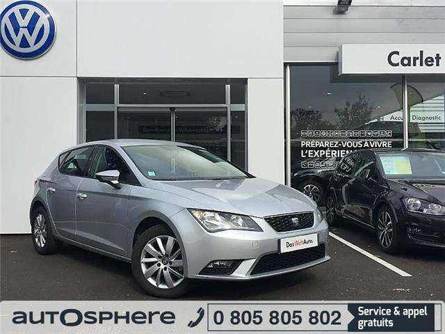 seat leon 1-6-tdi-105ch-fap-reference-start-stop gris