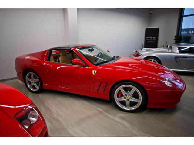 ferrari 575 superamerica-barchetta-1-of-575-full-service rot