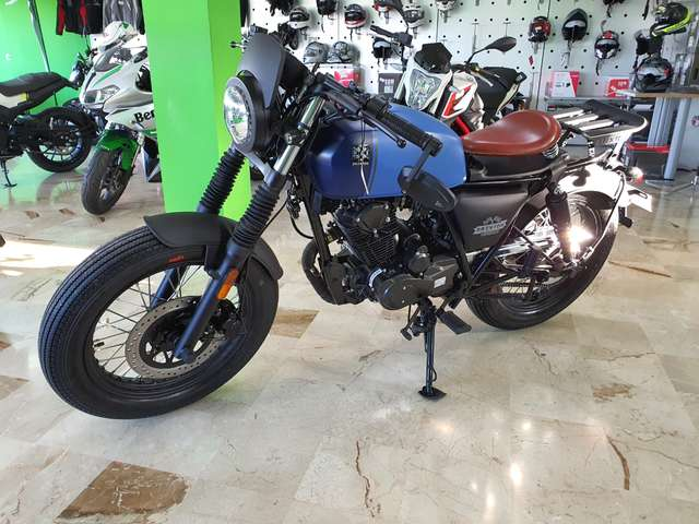 brixton bx-125 rayburn-125 blu-azzurro