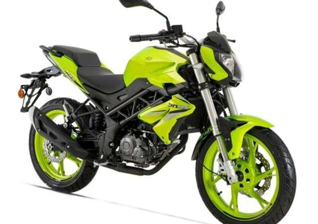 benelli bn-125 verde