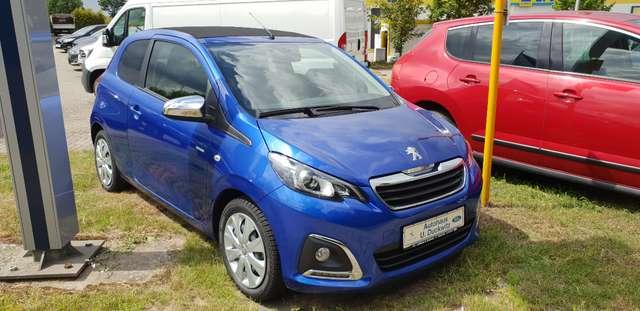 peugeot 108 style-top-cabrio-feeling blau