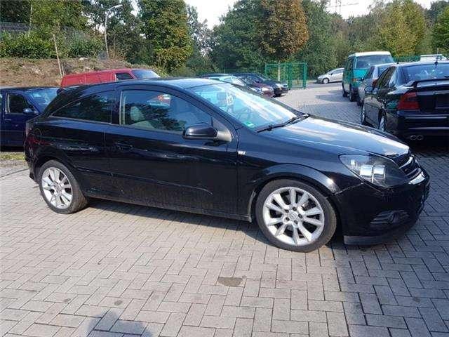 opel astra coupé in schwarz als gebrauchtwagen in marl für € 1.950,-
