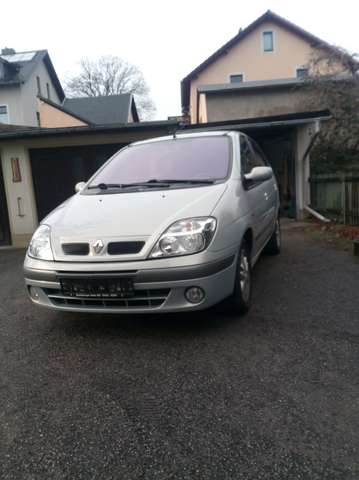 renault scenic 1-6-authentique silber