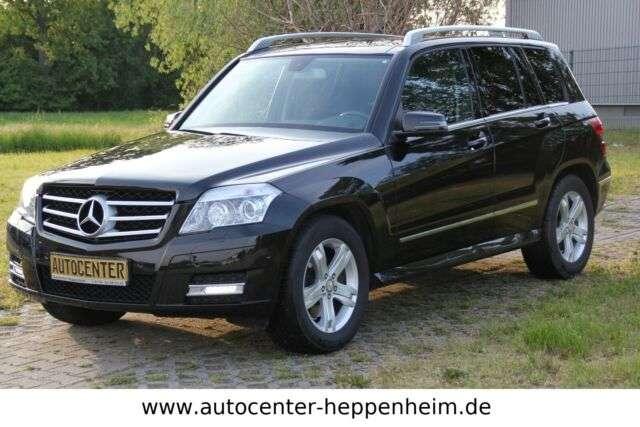 mercedes-benz glk-350 cdi-4-matic-sport-leder-navi-bi-xenon schwarz