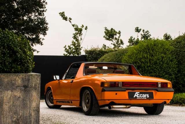 porsche 914 targa-4-cil-1-7-manual-bbs-wheels orange